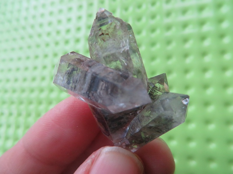 11.4g  A Rare Natural Crystal Specimens Bizarre Multiterminal +Free Shipping