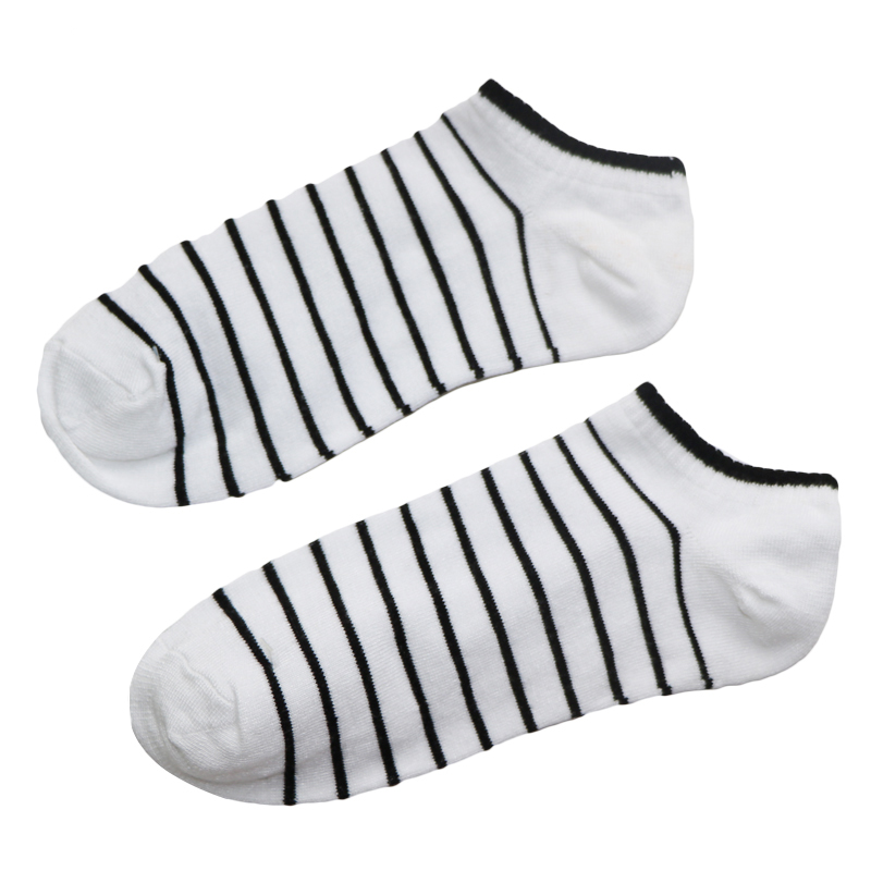 6Pair Men Sock Compression Male Summer Spring Shallow Mouth Colorful Mens Socks Calcetines Funny Socks For Mens Short Socks Art