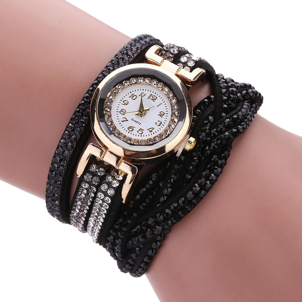 Reloj Mujer Watch Women Ladies watch Rhinestone Luxury Crystal Gold Bracelet Watches relogio Quartz Clock weiqin luxury gold wrist watch for women rhinestone crystal fashion ladies analog quartz watch reloj mujer clock female relogios