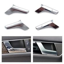 цена на Car Interior Door Handles for Mercedes Benz C Class W204 GLK Class X204 Inner Door Panel Handle Bar Pull Trim Cover Chrome/Matte
