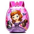 Новый милый школьный рюкзак EVA Elsa  детский рюкзак с жестким корпусом  рюкзак с милым мультяшным принтом Софии  Детская сумка на плечо  детски...