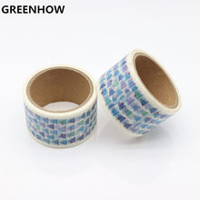 GREENHOW cute cartoon school student decorative washi paper set for diary planner tapes for handmade work