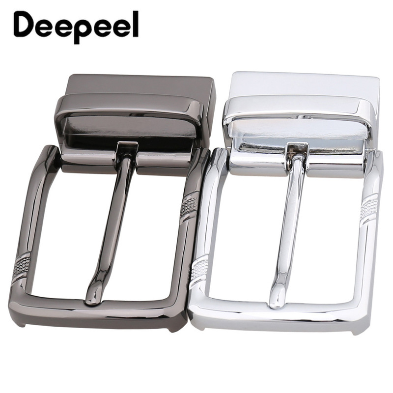 Deepeel Fashion Men Metal Belt Buckle Belt Head High Quality Pin Buckle For 33-34MM Belt Jeans Accessories DIY Leather Crafts