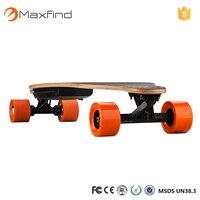 Aluminum Alloy Trucks PU Wheels 2 Colors Lightweight Complete Electric Skateboard 100kg Max Loading Non Slip