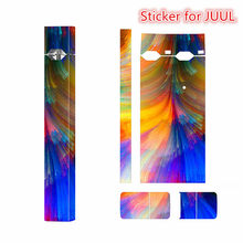 Sticker for JUUL Skin JUUL Sticker Protector Adhesive Printing Label for JUUL e-Cigarette(China)