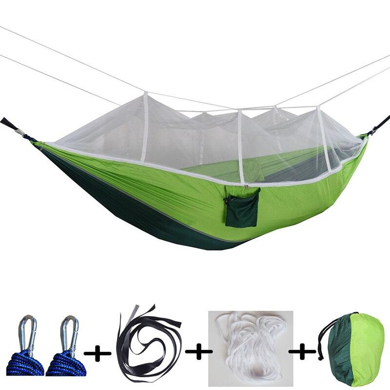 hammock ultralight parachute hammock hunting mosquito net double lifting outdoor furniture hammock