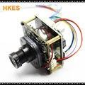 Alta Resolución 1920*1080 P 720 P 960 P HD cámara IP POE módulo junta con cable LAN