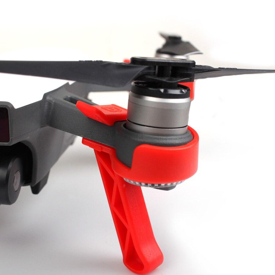 Sunnylife 4pcs set Landing Gears Stabilizers Landing Skids Gimbal Camera Protector for DJI SPARK