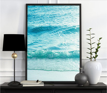Nordic Palm Surf Scenery 3 Pieces Printed Canvas Wall Art