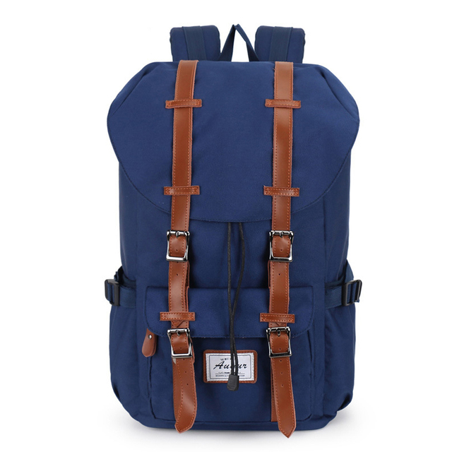 Hot 2016 New Fashion Luxury Brand Casual Men Backpacks Canvas Shoulder Backbags School Bags Travel Bagpack Teenagers  Mochila
