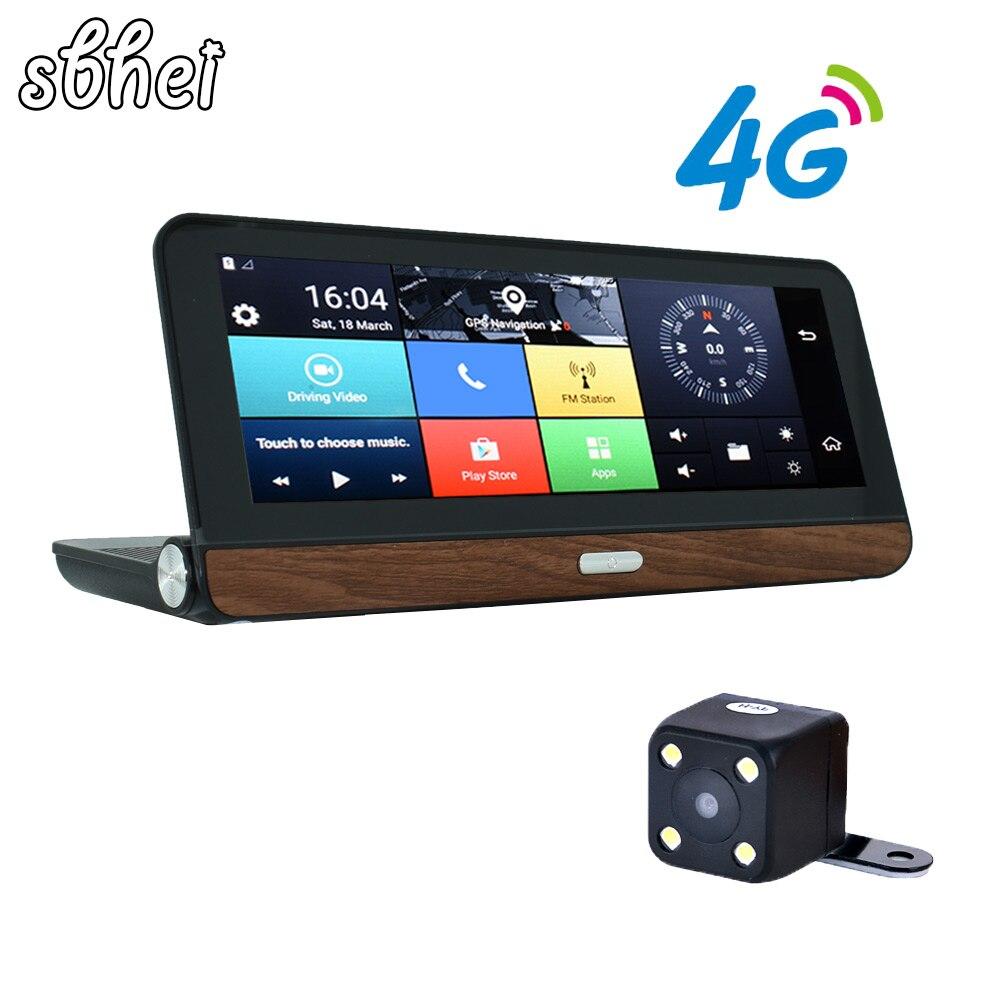 E38 Sbehi Pro 4G GPS Câmera Do Carro 8