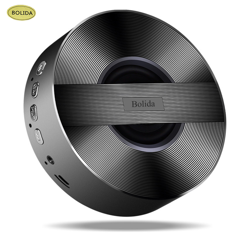 Bolida Bluetooth Speaker Mini Portable Wireless Loudspeaker with Suction Cup Handsfree for iPhone For Samsung Android Phone