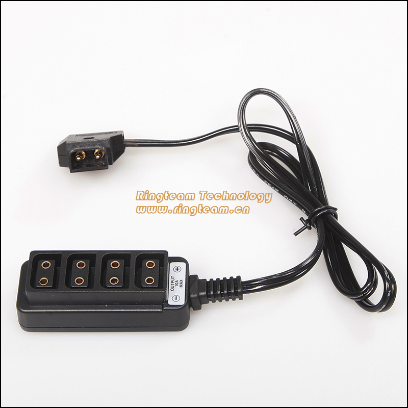 ФОТО Wholesale D-tap type B Womens 1 4 points camcorder battery type B ports d-tap power outlet header