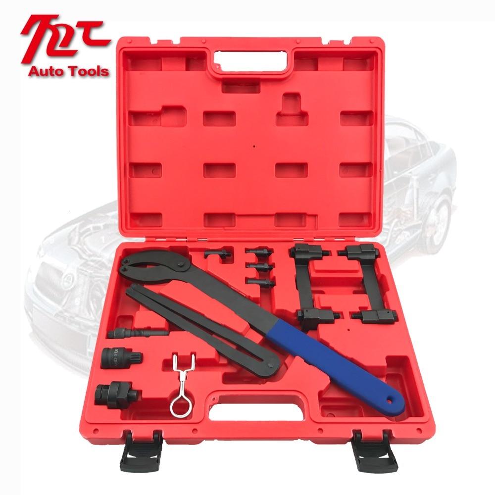 Купить с кэшбэком Timing Belt Locking Tool Timing Tool Kit For  audi V6 2.4 /3.2 FSI Engine A4,A6,A8 1 order
