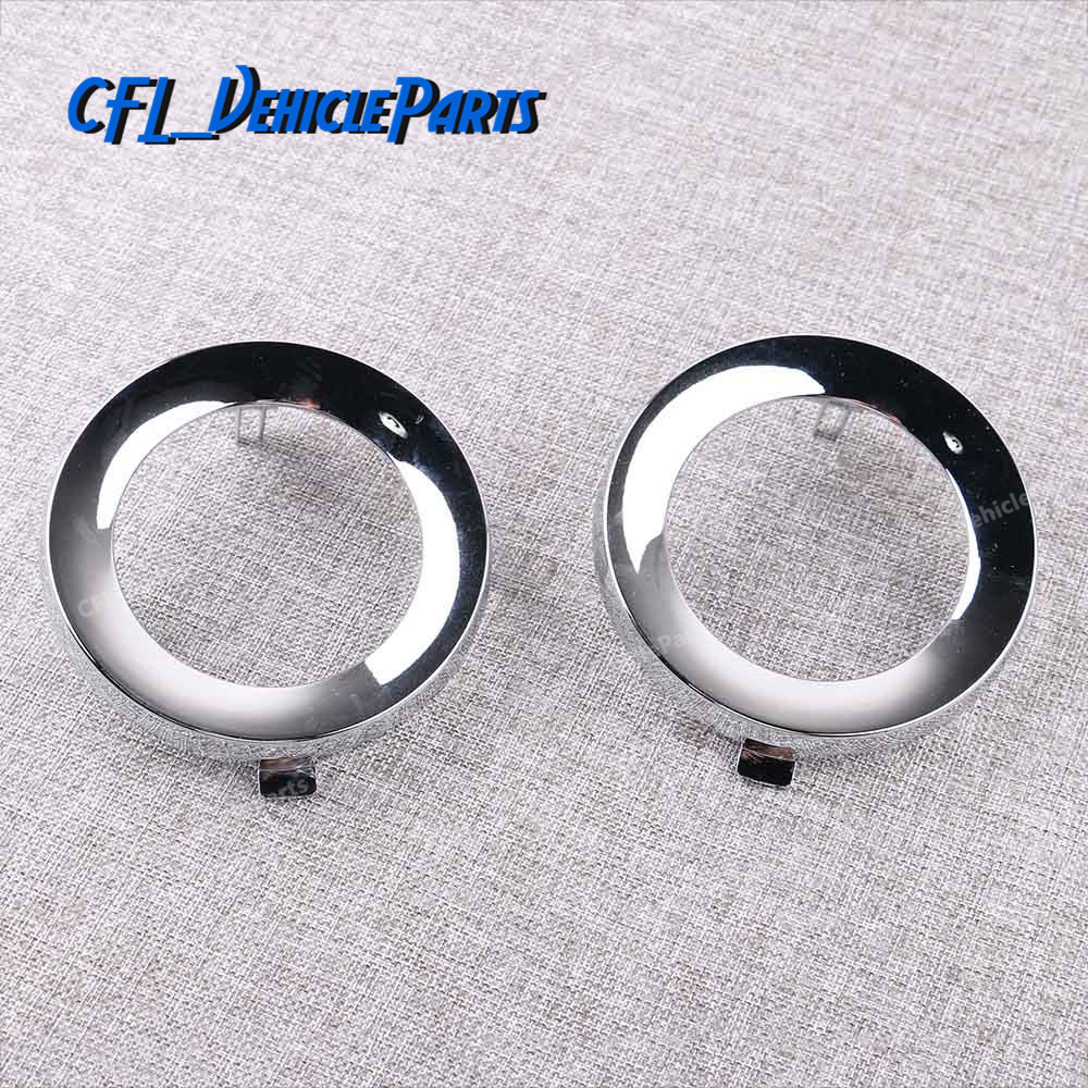 1Pcs 2Pcs Front Chrome Fog Light Lamp Cover Cap Trim Ring 57731SC000 57731 SC000 For Subaru Forester 2009 2010 2011 2012 2013