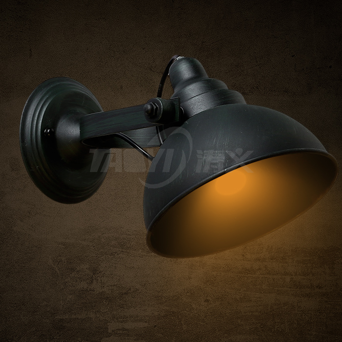 Modern Vintage Industrial Loft Sconce Retro Creative Wall Light Wall Lamp Fixture LED E27 high quality modern wall lamp vintage creative industrial loft retro wall sconce light living room bedroom warehouse stair lamps