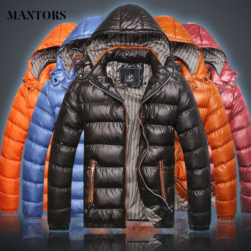 Winter Mens Parkas Casual Thicken Warm Coat 2019 Casaco Masculino Inverno Zipper Hooded Outwear Waterproof Men Windbreaker Solid