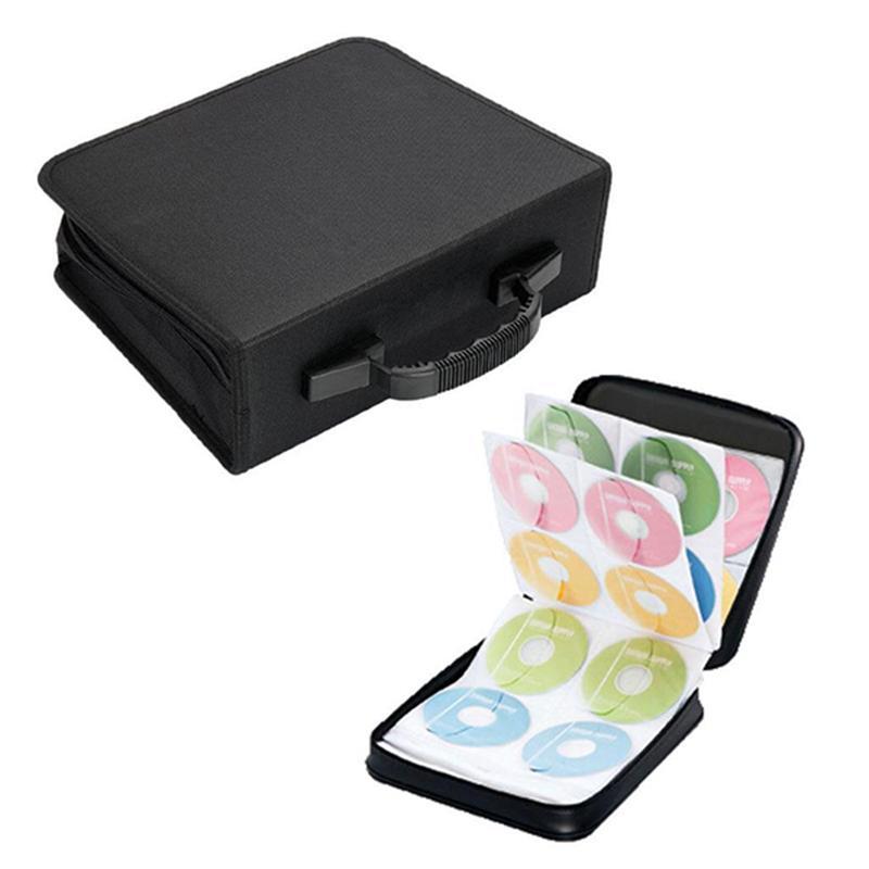 288 Disc CD DVD Case Storage Bag Album Holder Box Cover Carrying Organizer Disc Storage Wallets