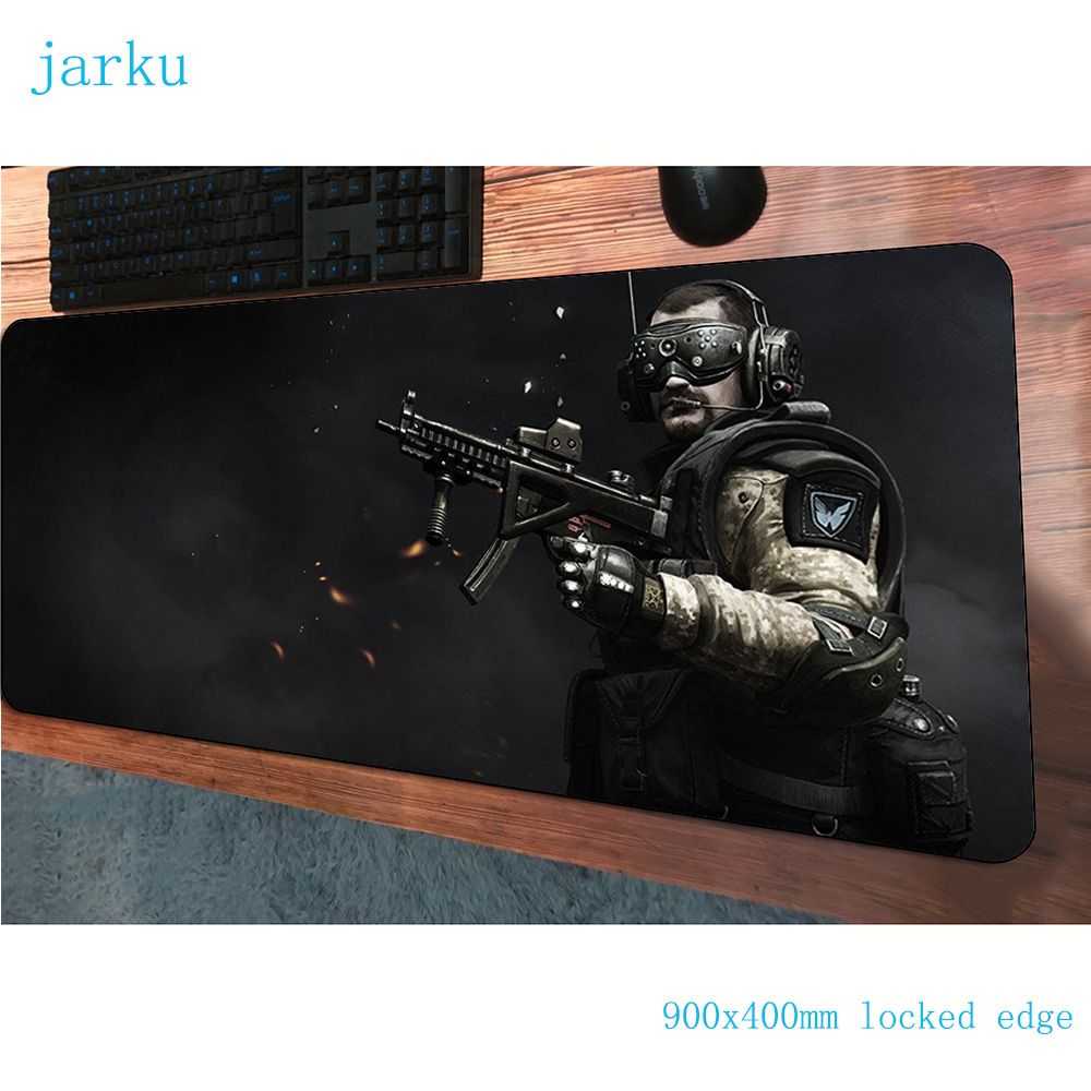 warface <font><b>padmouse</b></font> <font><b>900x400x3mm</b></font> gaming mousepad game locked edge mouse pad gamer computer desk High-end mat notbook mousemat pc image
