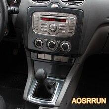 AOSRRUN для Ford focus 2 MK2.5 2009-2011 углеродное волокно стиль консоли шестерни автомобильные аксессуары автомобиль-Стайлинг