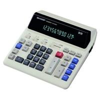 Sharp CS 2122H Plug Power LED Fluorescent Screen Computer Button Calculator Bank Financial Computer