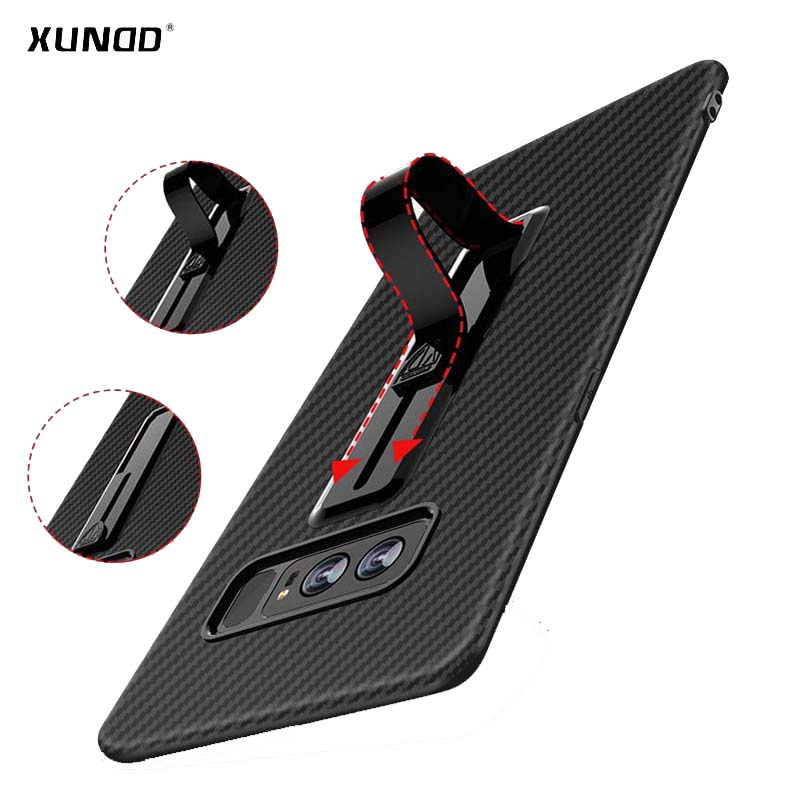 Xundd brand case for Samsung Galaxy Note 8 phone Case For Galaxy Note 8 6.3inch with Retractable ring bracket free shipping