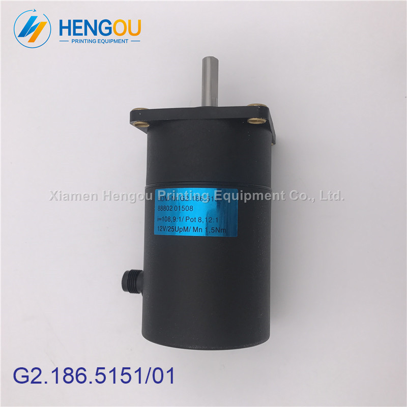 2 Pieces G2.186.5151 Motor for Hengoucn PM52 SM52 Mahcine, Motor G2.186.5151/012 Pieces G2.186.5151 Motor for Hengoucn PM52 SM52 Mahcine, Motor G2.186.5151/01
