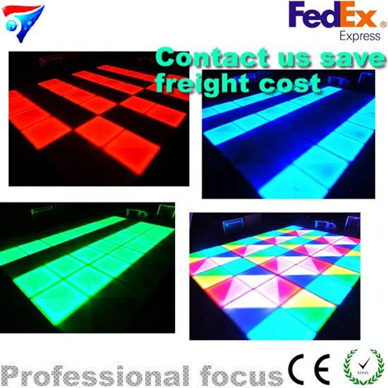 432x10mm (R144, G144, B144) décoration de mariage lumière infini piste de danse LED scène DJ DMX Disco éclairage