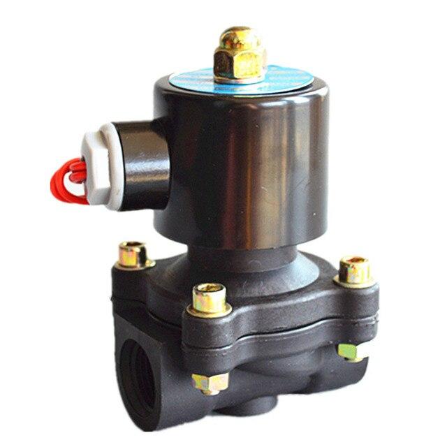 """Бесплатная доставка 1/2 """"Электрический электромагнитный клапан для воды N/C 2 way воздушный нефть и газ 2w160-15 12 В 24 В 220 В"""