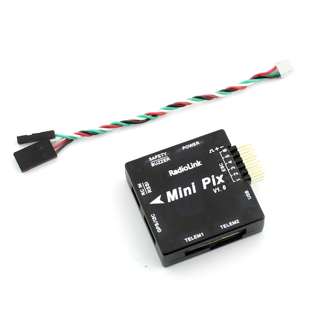 Image 4 - Radiolink Mini PIX M8N GPS Flight Control Vibration Damping by Software Atitude Hold for RC Racer Drone Multicopter Quadcopter-in Parts & Accessories from Toys & Hobbies