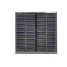 Photovoltaic monocrystalline silicon solar panel power board 5v/6V 2W mobile solar panel silicon series small board