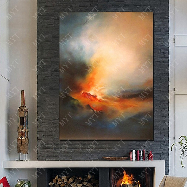 Free Shipping Abstract   Painting  On Canvas Home Decoration Wall Art Painting   High Quality Hand made   Wall Art No Framed