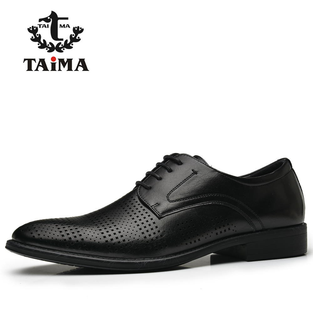 TAIMA New season Design Collection Color Black Men Oxfords Comfortable Men Flats Shoes #995703P пена монтажная mastertex all season 750 pro всесезонная