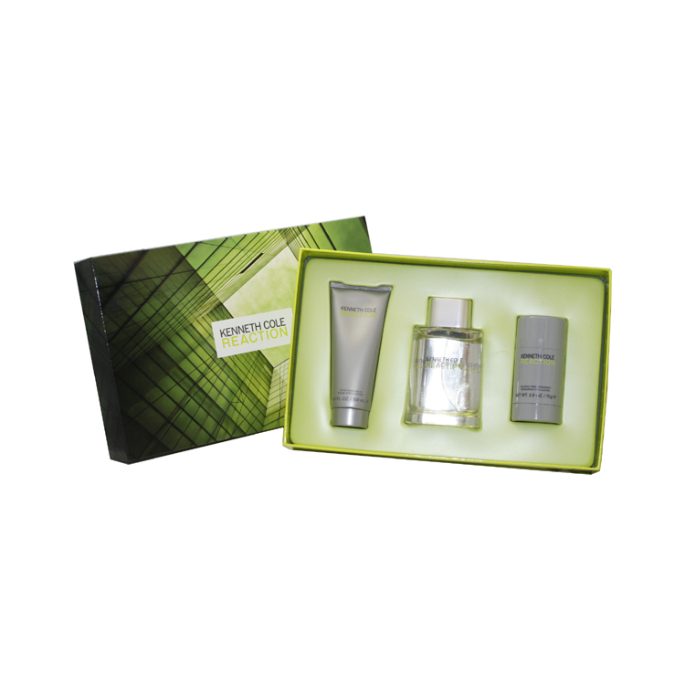 KENNETH COLE REACTION by Kenneth Cole for Men 3 PC. GIFT SET kenneth cole reaction women s beauty in belize skirted bikini bottom