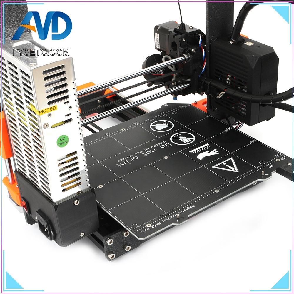 aluminio impressora 3d kit completo magnetico heatedbed motores 04