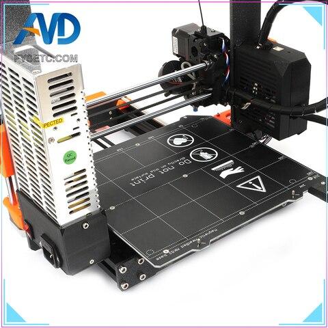 aluminio impressora 3d kit completo magnetico heatedbed motores