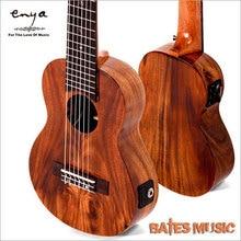 "Enya samall guitar&ukulele , 28 "" Guitar/fishman EQ, A level Acacia wood Hawaii Small Classical headstock"