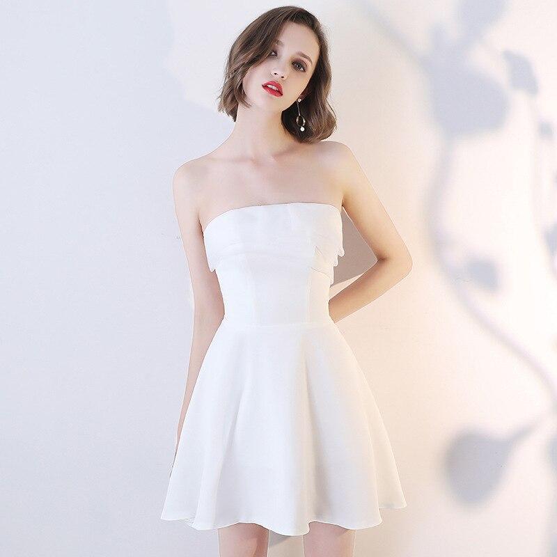 66d198653 Compra homecoming dresses white y disfruta del envío gratuito en  AliExpress.com