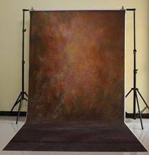 150×300 см из хлопка и полиэстера темно-Цвет Задний план для рождественской вечеринки детей фото коричневые стены xt-3326