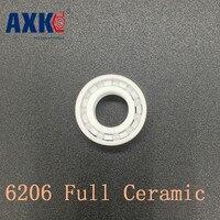 AXK 6206 Full Ceramic Bearing 1 PC 30 62 16 Mm ZrO2 Material 6206CE All Zirconia