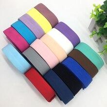 18 цветов, 5 ярдов, 1 дюйм(25 мм), эластичная лента, многослойная, спандекс, лента для шитья, кружевная отделка, пояс, аксессуары для одежды