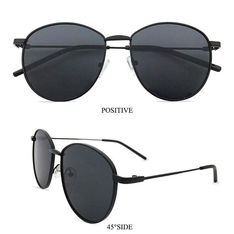 iGUETTA Round Clear Sunglasses Women 2019 Designer Sunglass Women High Quality Metal Glasses Frame UV400 Oculos De Sol IYJA589 in Women 39 s Sunglasses from Apparel Accessories