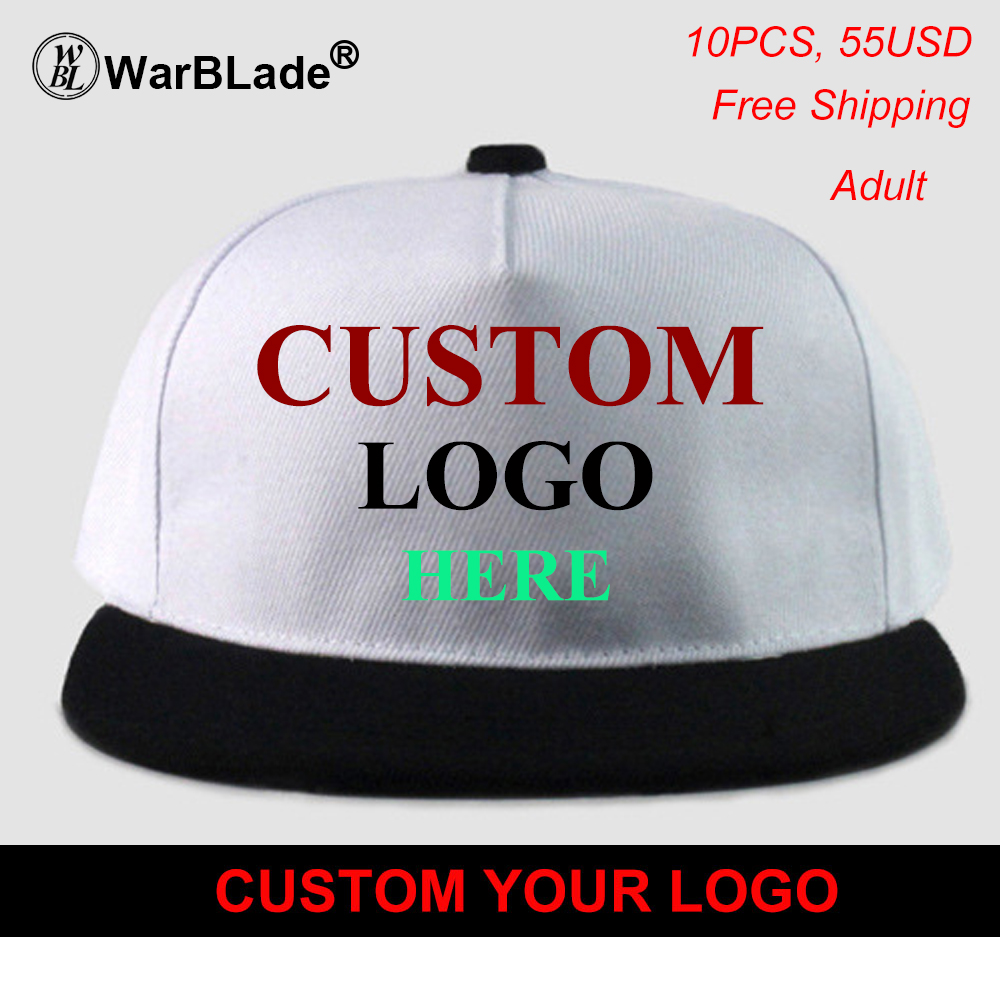 ae08c66c2b9 WarBLade High Quality DIY Your Own Cap Custom Logo Caps Women Men Snapback  Blank Customized Hats Dad Printed Cap Free Shipping