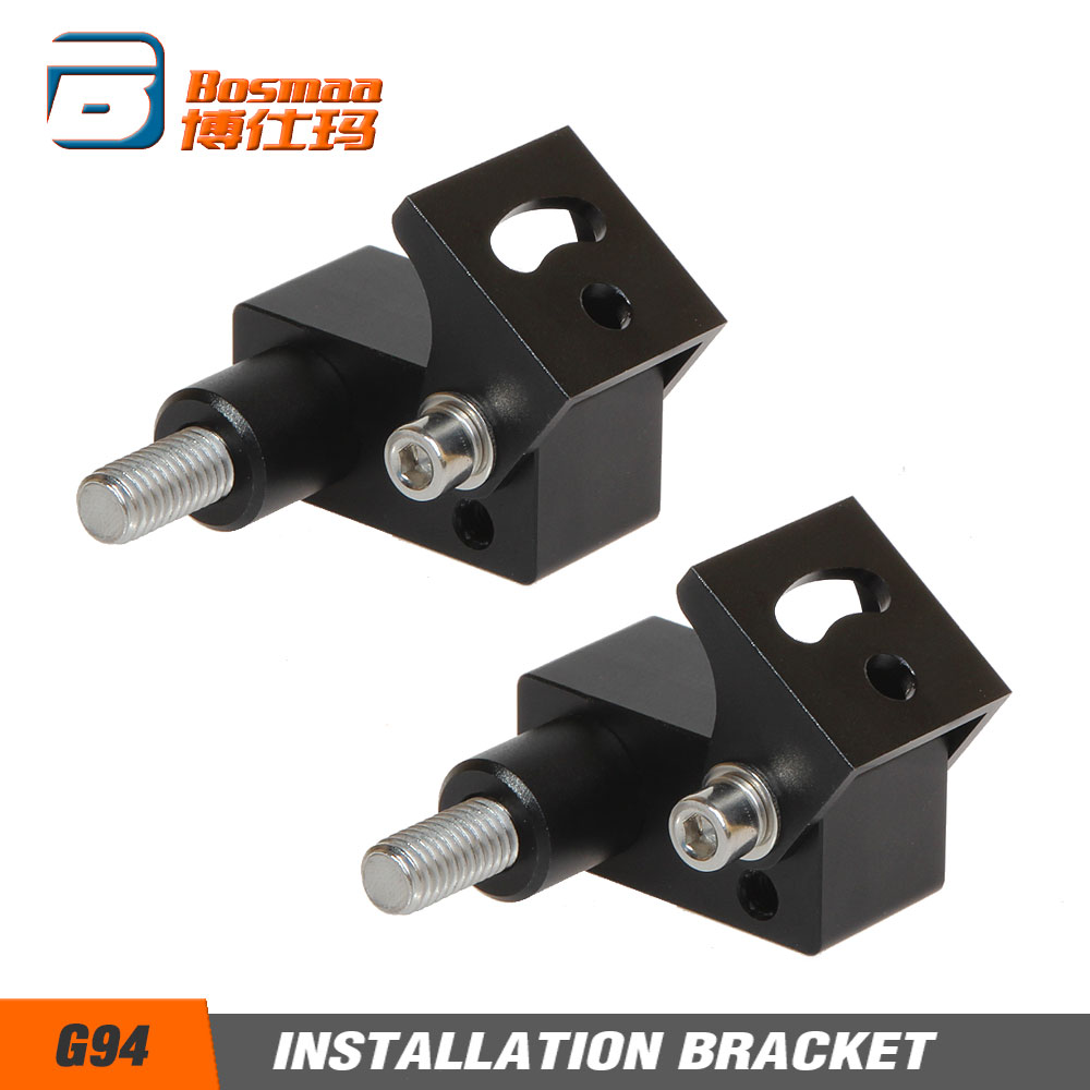 BOSMAA G94 Motorcycle LED Headlight Installation Bracket For Cafe Racer Chopper Motorcycle Hunting Driving Lamp Clamp Holder