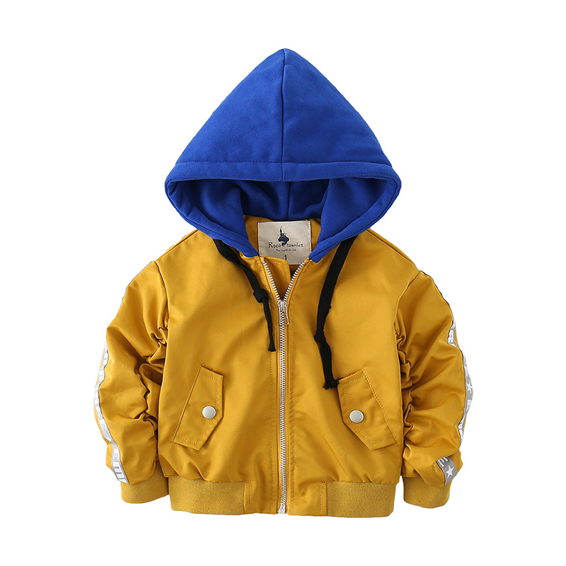 Fashion spring and autumn sports style long sleeve infant coats MD170MQ024