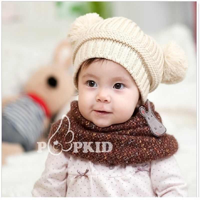 Детские вязание крючком вязаная детская шапка детские зимние шапки теплая девочка шапки реквизит для фотографии новорожденных Bebes Панама Bonet