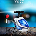 Wltoys V977 Power Star X1 6CH 2.4 G sin escobillas Flybarless RC helicóptero Mini CP 2.4 GHz RC helicóptero nueva V977
