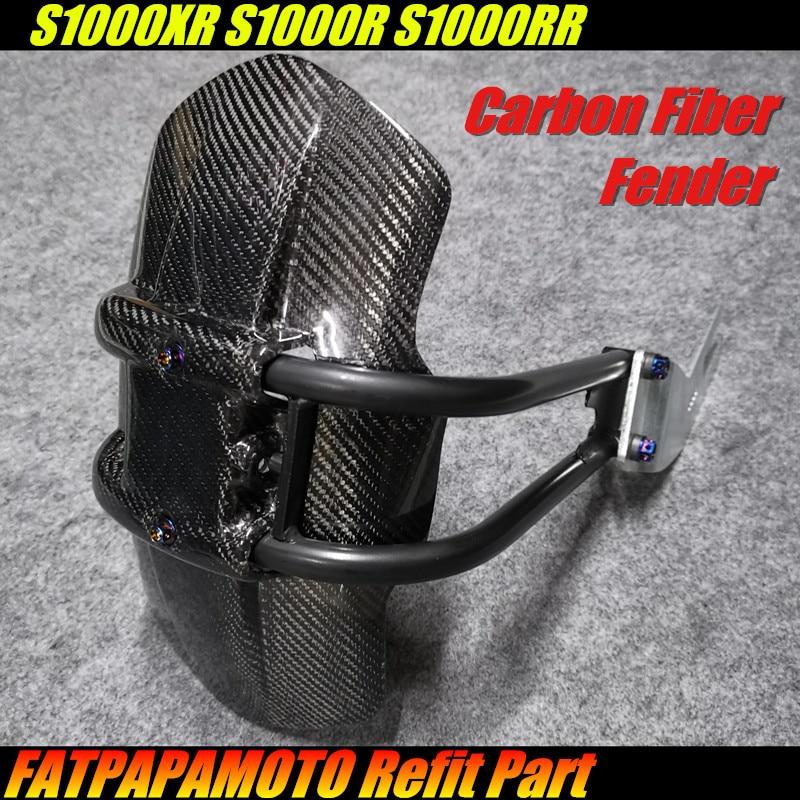 Pour BMW S1000XR S1000R S1000RR Integr accessoires moto 100% pare-boue arrière en Fiber de carbone