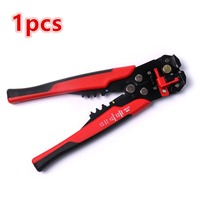 Universal 1pc Multifunctional Automatic Wire Cable Stripper Crimping Pliers Terminal For Cable Pipe Clamp Station Tools