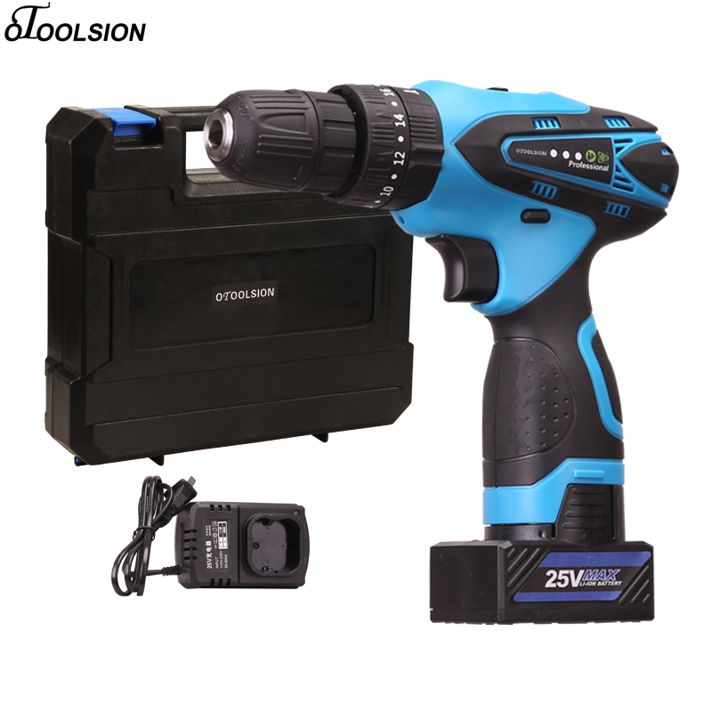 48N/M Electric Screwdriver Drill Double Speed Wireless Electric Drill Accessories Cordless Drill 25V Cordless Drill Impact48N/M Electric Screwdriver Drill Double Speed Wireless Electric Drill Accessories Cordless Drill 25V Cordless Drill Impact